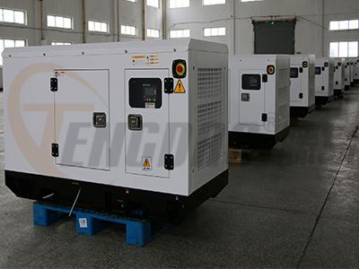 全自动12KW静音柴油发电机组 四缸水冷