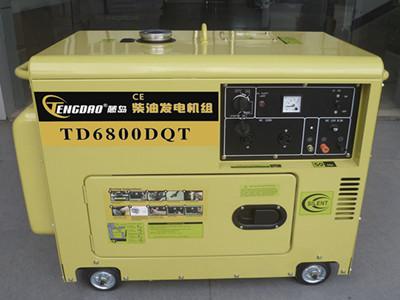 藤岛5KW静音柴油发电机组 单三相可选