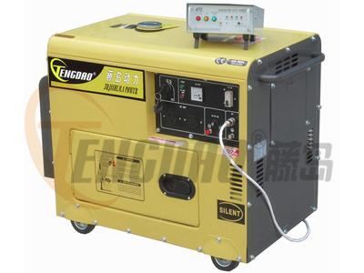 全自动7KW小型静音柴油发电机组