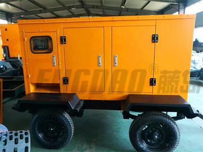 移动拖车式30KW静音柴油发电机组价格