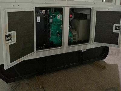 350千瓦静音发电机组价格/350KW低噪音柴油发电机组