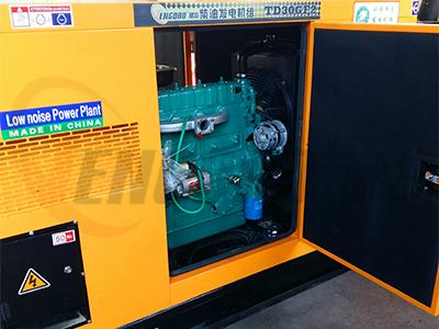 藤岛24KW静音柴油发电机/四缸水冷发电机组价格