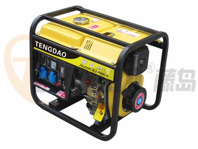 3KW小型柴油发电机组/电启动发电机组价格