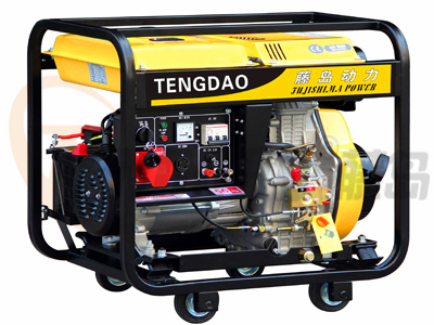 移动式5KW柴油发电机组/三相电启动发电机组价格