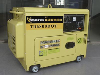 三相静音柴油发电机组5KW