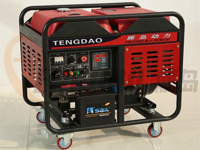 双缸风冷10KW柴油发电机组价格