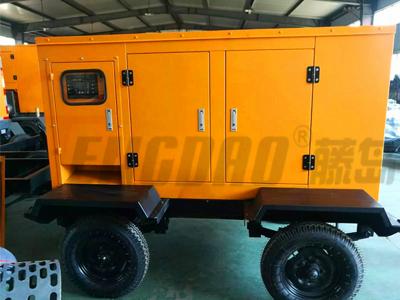 拖车式120KW潍柴静音柴油发电机组价格