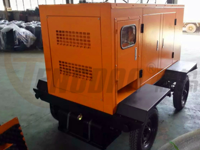 拖车式350KW静音柴油发电机组工厂价格