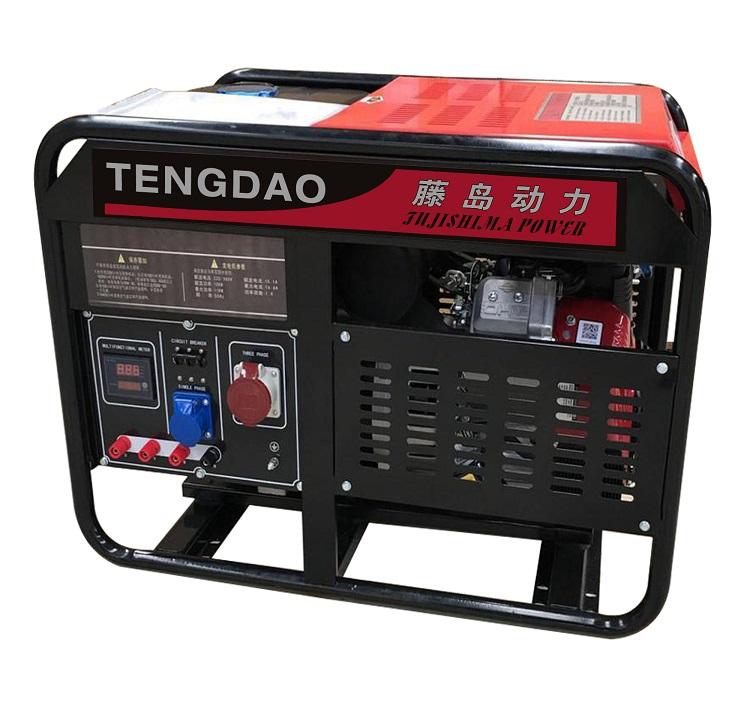 10kw汽油发电机组/双缸风冷发电机组价格