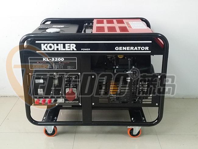 科勒20KW双缸风冷汽油发电机组价格