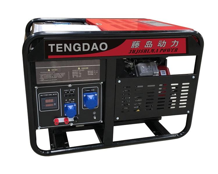 百力通10KW汽油发电机组价格