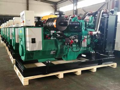 30-500KW柴油发电机组耗油量