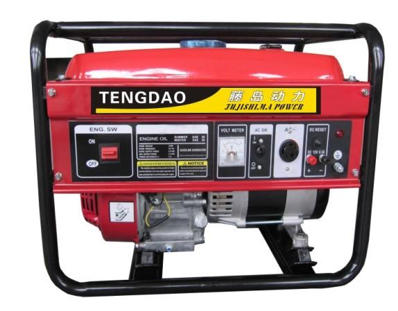 1KW小型汽油发电机组参数价格